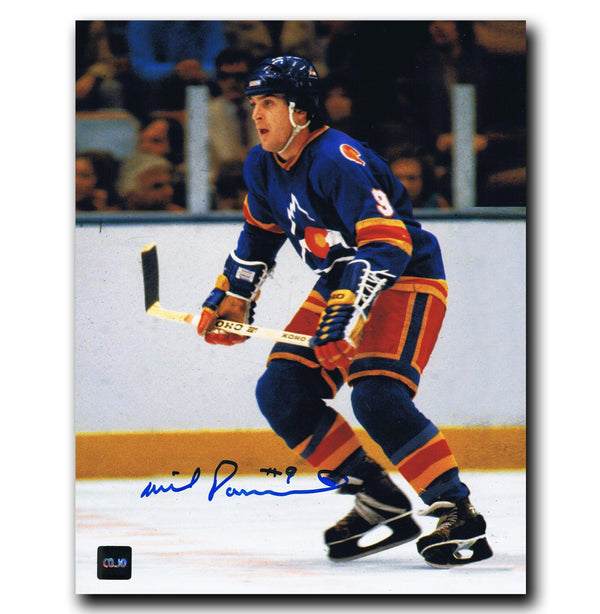Wilf Paiement Colorado Rockies Autographed 8x10 Photo Autographed Hockey 8x10 Photos CoJo Sport Collectables