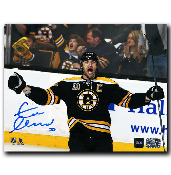 Zdeno Chara Boston Bruins Autographed Goal Celebration 8x10 Photo - CoJo Sport Collectables Inc.