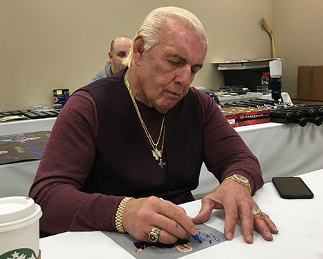 Ric Flair WWE Legends Autograph Signing Toronto CoJo Sport Collectables