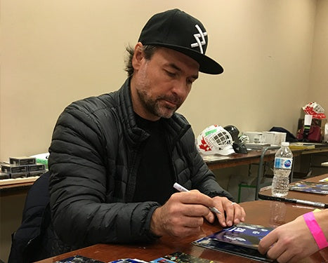 Darcy Tucker Toronto Maple Leafs Autograph Signing Toronto CoJo Sport Collectables