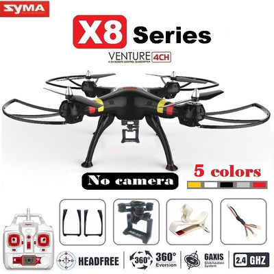 Syma X8 X8C X8W FPV RC Drone Quadcopter Without Camera Professional Dron With Holder For Gopro/SJCAM/Xiaoyi/Eken Action Camera - Baby clothing, toys, shoes, mum & dad products