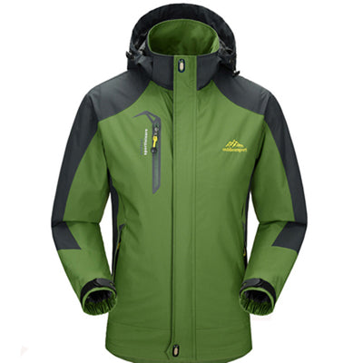 Mountainskin 5XL Men's Jackets Waterproof Spring Hooded Coats Men Women Outerwear Army Solid Casual Brand Male Clothing,SA153 - Baby clothing, toys, shoes, mum & dad products