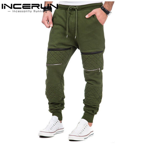 INCERUN S-3XL Men Thick Sweatpants Winter Warm Joggers Fleece Lined Baggy Long Sweat Pants Casual Hip Hop Trousers gyms-clothing - Baby clothing, toys, shoes, mum & dad products