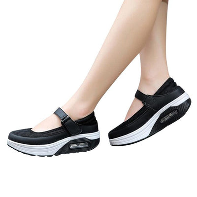 HEE GRAND 2017 Spring Creepers Summer Casual Platform Buckle Shoes Woman Slip On Flats Women Shoes Size 35-42 XWC1116 - Baby clothing, toys, shoes, mum & dad products
