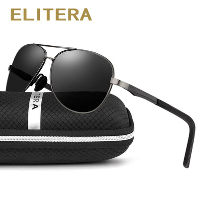 ELITERA Aluminum Magnesium Brand Polarized Sunglasses Men New Design Fishing Driving Sun Glasses Eyewear Oculos Gafas De So E210 - Baby clothing, toys, shoes, mum & dad products