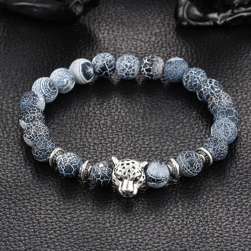 Obsidian Bracelet Buddha Head Gold Bracelet Lava Stone Bead Bracelets - Baby clothing, toys, shoes, mum & dad products