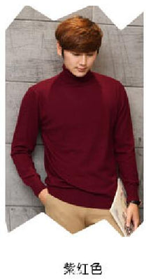 Men Sweater Winter Jumpers Cashmere Knitted Sweaters Warm Turtleneck Pullovers 2017 Hot Sale High Quaulity Standard Clothes Tops - Baby clothing, toys, shoes, mum & dad products