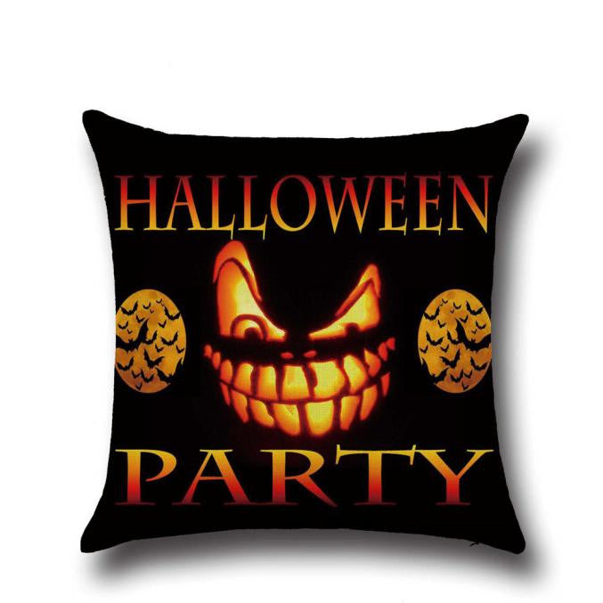 Halloween Pillow Case Sofa Waist Throw Cushion Cover Home Decor - Baby clothing, toys, shoes, mum & dad products