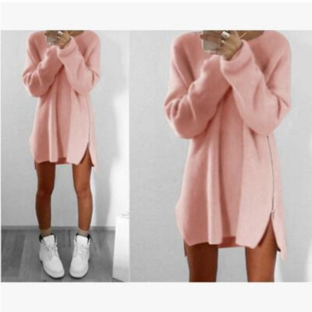 Sweater Tops Women 2018 Autumn Winter Long Sleeve Plus Size S-4XL Pullovers Elegant Women Loose Female Sweater Clothing - Baby clothing, toys, shoes, mum & dad products