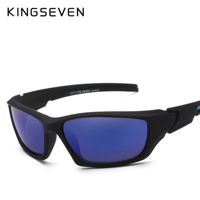 KINGSEVEN Fashion Polarized Sunglasses Men Luxury Brand Designer Vintage Driving Sun Glasses Male Goggles Shadow UV400 - Baby clothing, toys, shoes, mum & dad products