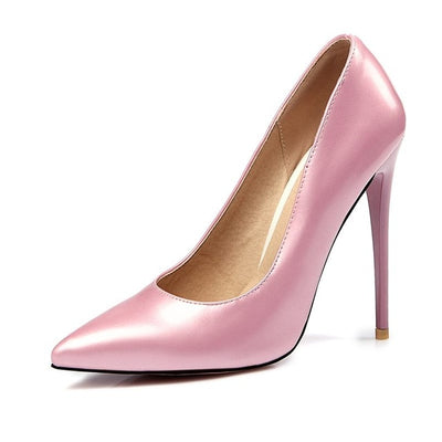 Asumer 2018 new fashion pink bottom 12cm super high heels women pumps pointed toe stiletto high heel spring summer wedding shoes - Baby clothing, toys, shoes, mum & dad products