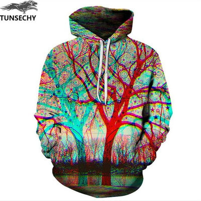 TUNSECHY Hot Fashion Men/Women 3D Sweatshirts Print Milk Space Galaxy Hooded Hoodies Unisex Tops Wholesale and retail - Baby clothing, toys, shoes, mum & dad products