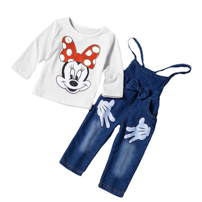 Children Clothing 2018 Autumn Winter Girls Clothes T-shirt+Pants 2pcs Christmas Outfit Kids Costume Suit For Girls Clothing Sets - Baby clothing, toys, shoes, mum & dad products