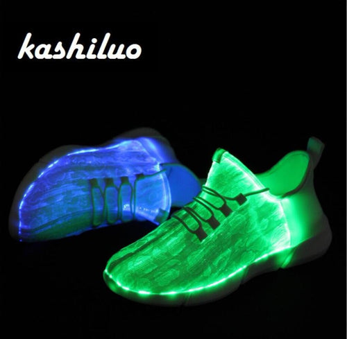 USB chargeable glowing Sneakers - Baby clothing, toys, shoes, mum & dad products