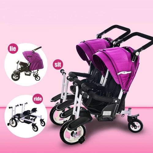 Jogger stroller twins tricycle - Baby clothing, toys, shoes, mum & dad products