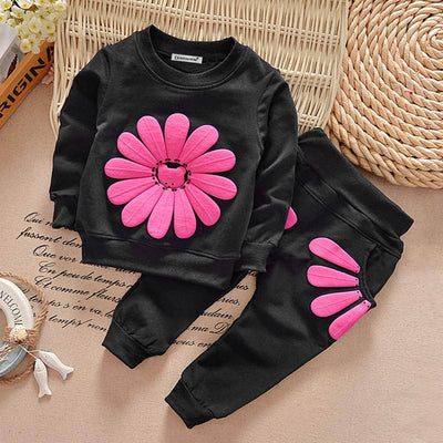 Baby Girl Clothes Winter Cotton Girls Sport Suits Children Clothing Sets High Qulity Long Sleeve Kids Outfits Suits 1 2 3 Years - Baby clothing, toys, shoes, mum & dad products