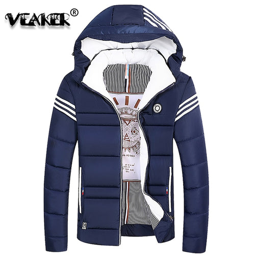 2018 Winter Mens Thick Jacket Coat Male Warm Velvet Fleece Fur Jackets Parka Men Casual Hooded Outerwear Parkas Plus Size 5XL - Baby clothing, toys, shoes, mum & dad products