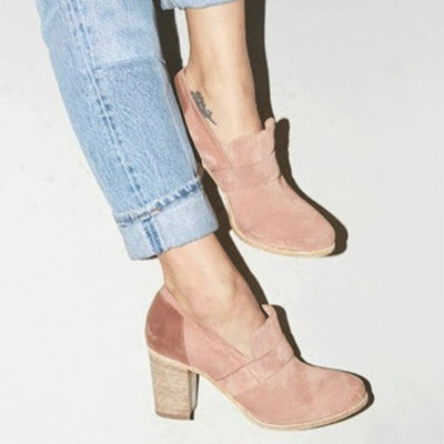HEE GRAND Shallow Women Ankle Pumps NEW Sexy Square High Heels Faux Suede Platform Shoes Women For Spring Size 35-43 XWD6991 - Baby clothing, toys, shoes, mum & dad products