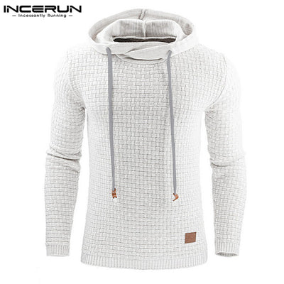 Hoodie Men Hoody Male Long Sleeve Solid Color Hooded Men's Sweatshirt Mens Hoodies Tracksuit Sweat Coat Casual moletom masculino - Baby clothing, toys, shoes, mum & dad products
