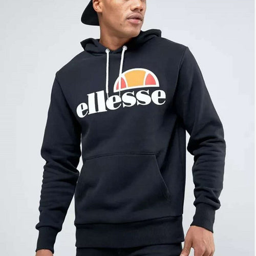 2018 Ellesse Hooded Sweatshirt Graphic Brand Warm Hoody Women And Men's Unisex Sweatshirt - Baby clothing, toys, shoes, mum & dad products