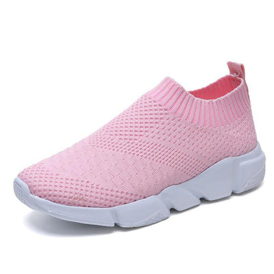 HEE GRAND 2018 Women Air Cushion Shoes Nonslip Training Running Shoes Flats Slip On Breatheable Loafer Mujer Shoes XWD6997 - Baby clothing, toys, shoes, mum & dad products