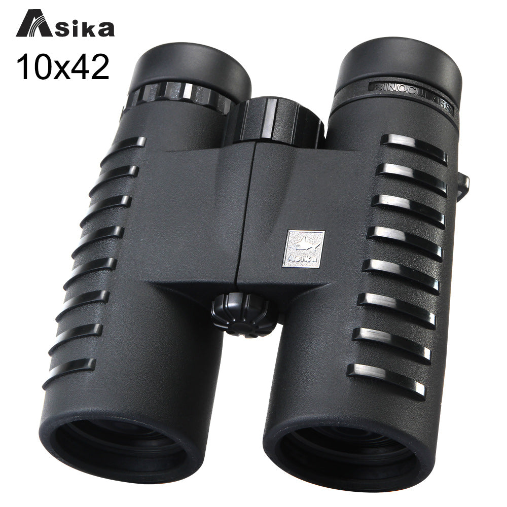 10x42 Camping Hunting Scopes Asika Binoculars with Neck Strap Carry Bag Night Vision Telescope Bak4 Prism Optics Binocular - Baby clothing, toys, shoes, mum & dad products