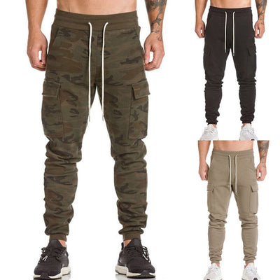 KLV Men Autumn winter Trousers Harem Sweatpants Slacks Casual Jogger Dance Sportwear Baggy Long Male Pants 9.14 - Baby clothing, toys, shoes, mum & dad products