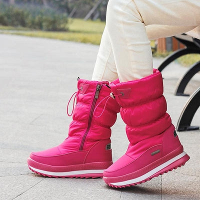 Children Rubber anti-slip Snow Boots - Baby clothing, toys, shoes, mum & dad products