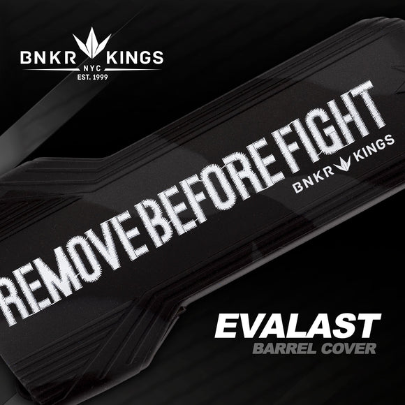 Bunker Kings Evalast Barrel Cover - Remove Before Fight - Black