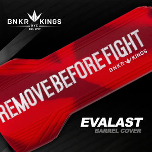 Bunker Kings Evalast Barrel Cover - Remove Before Fight - Red