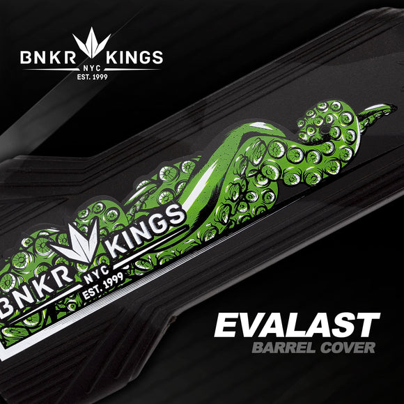 Bunker Kings Evalast Barrel Cover - Tentacle - Black