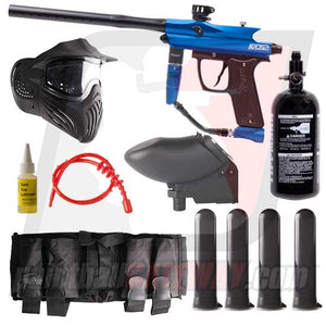 Azodin KAOS 2 Paintball Gun Advanced Package - Blue
