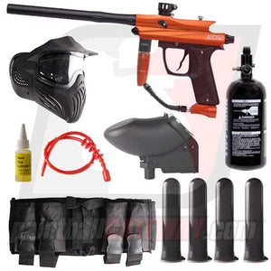 Azodin KAOS 2 Paintball Gun Advanced Package - Orange