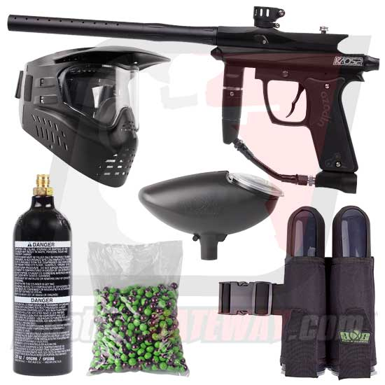 Azodin KAOS 2 Paintball Gun Starter Package - Black