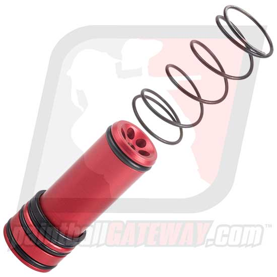 Boss Empire AXE/MINI 302 Bolt Upgrade with Spring - Red - (#3M38)