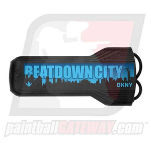Bunker Kings Evalast Barrel Cover - Beatdown City Black/Blue