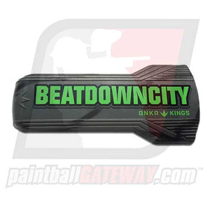 Bunker Kings Evalast Barrel Cover - Beatdown City Lime/Grey