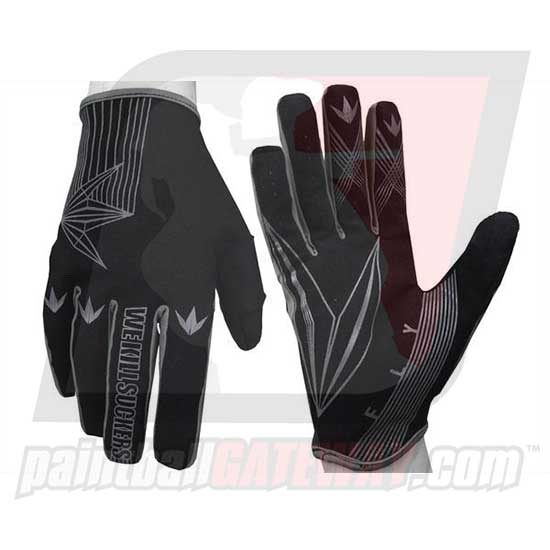 Bunker Kings Fly Paintball Gloves - Black Small/Medium