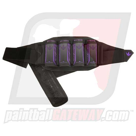 Bunker Kings V5 Strapless Paintball Harness - 4+7 Purple - (#Q27)