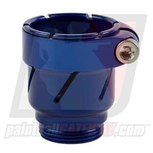 CCI Phantom Clamping Feed Neck - Blue - (#3P22)