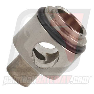 Check It Autococker Low Pressure Turbo Exhaust Valve Guide Body - Stainless - (#3E10)