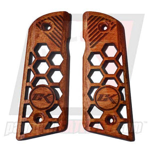 Contract Killer 45 Frame Wood Grip Panels - ST - (#3M14)