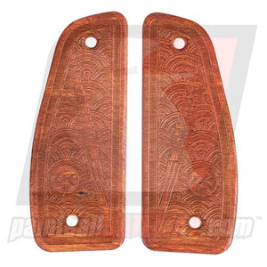 Contract Killer Niche Vector 86 Frame Wood Grip Panels - Ronin - (#3G19)