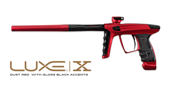 DLX LUXE X - RED/BLACK