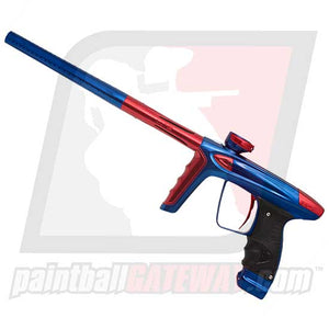 DLX Luxe Ice Paintball Gun - Polished Blue/Red