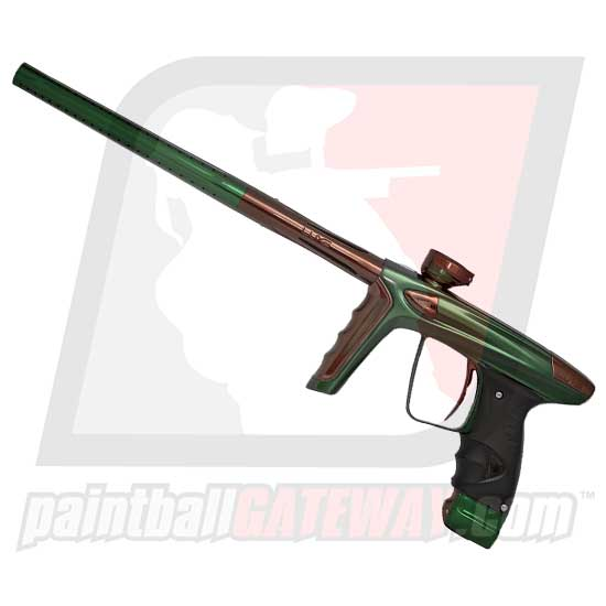 DLX Luxe Ice Paintball Gun - Polished Forest Green/Brown