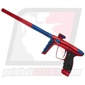 DLX Luxe Ice Paintball Gun - Polished Red/Blue