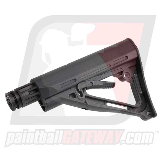 Empire BT Tippmann 98 Adjustable Car Stock (TM-15 Style) - Black - (#U10)
