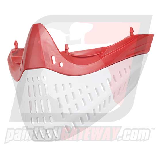 Empire E-Flex/E-Vent Bottom Faceplate - Red/White (#CL14)