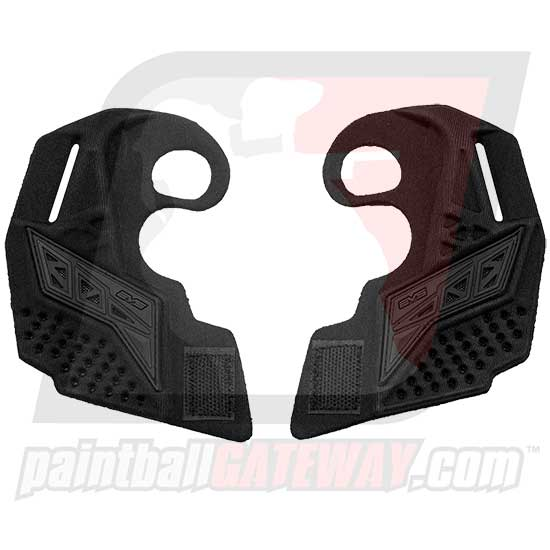 Empire EVS Goggle Ear Piece Set - Custom Black/Black - (#3H39)